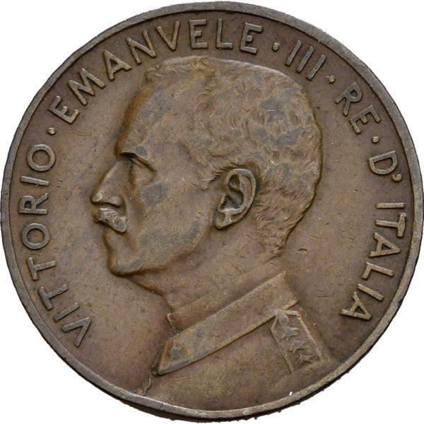 1915 Italia 5 centisimi R, 1+