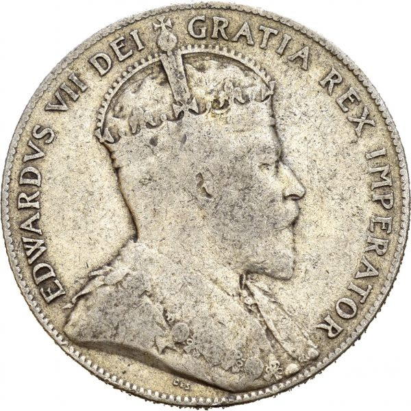1909 Newfoundland 50 cents, 1/1-