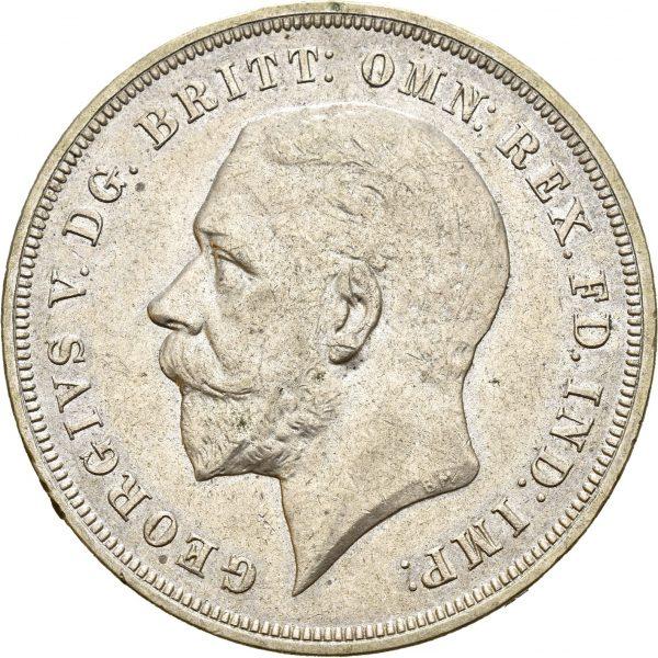 1935 England crown George V, 01