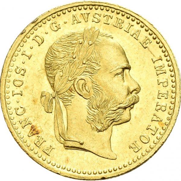 1915  Østerrike dukat Franz Josef, nypreg, 0