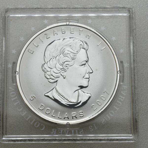 2007 Canada 5 dollar F12, proof