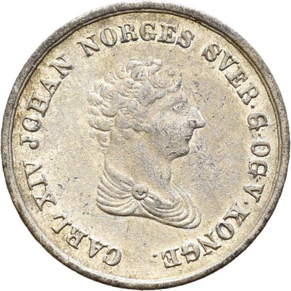 1842 4 skilling Carl XIV Johan, 01