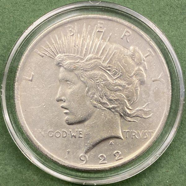 1922 USA 1 dollar, 1