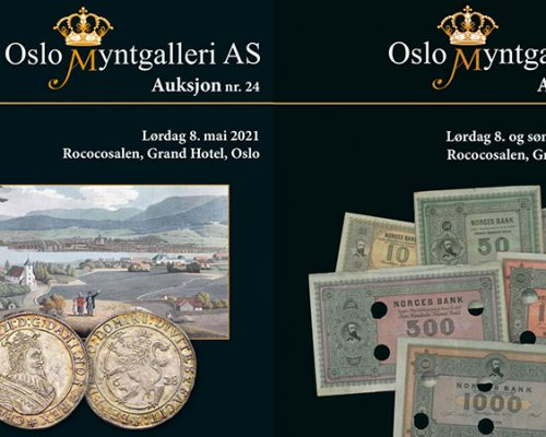 Auksjon nr. 24 og 25 er nå åpne for budgivning / Auction nr. 24 and 25 are open for bidding